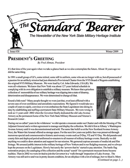 The Standard Bearer newsletter